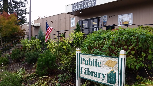 West Slope Library, photo by B. E. Berger